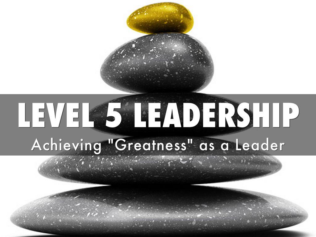Ηγεσία: Το 5ο επίπεδο, από το Harvard Business Review